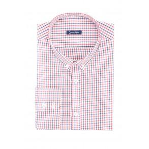 Мужская рубашка в клетку Сasual Poplin