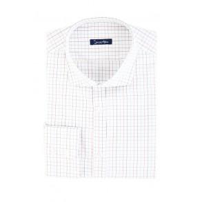 Мужская рубашка в клетку Twill Slim Fit