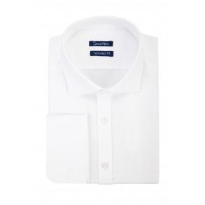 Белая рубашка Herringbone Tailored Fit