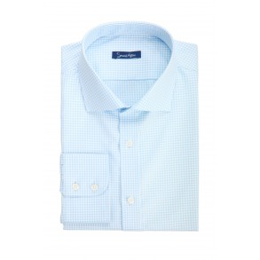 Мужская рубашка в мелкую клетку Tailored Fit