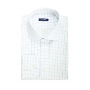 Мужская рубашка в голубую клетку Tailored Fit