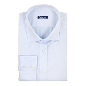 Рубашка голубая non-iron