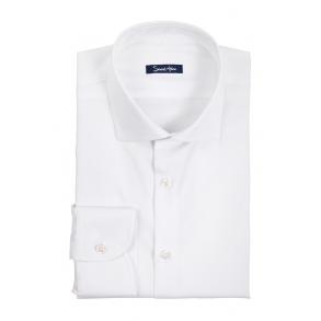 Белая рубашка Dobby Slim Fit