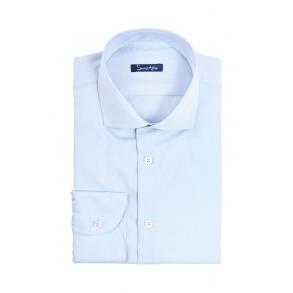 Голубая рубашка Dobby Tailored Fit