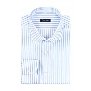 Рубашка в полоску Oxford Slim Fit