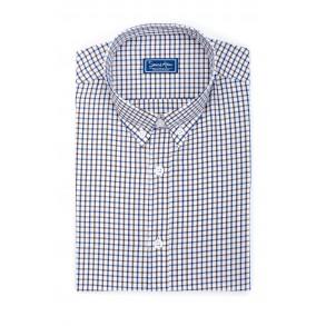 Мужская рубашка в клетку Casual Poplin